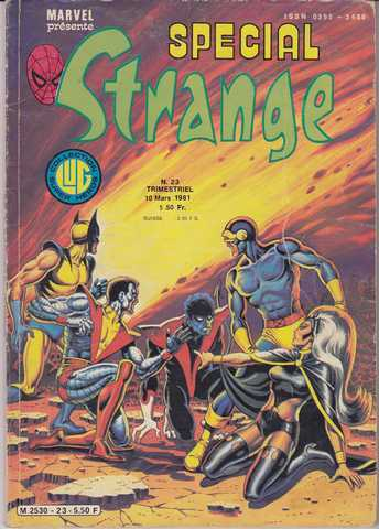 Collectif, special strange n�023