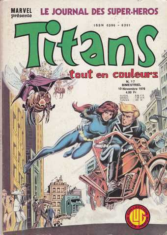 Collectif, Titans n�017