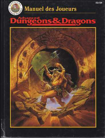 Collectif, Advanced Dungeons & Dragons - Manuel des joueurs