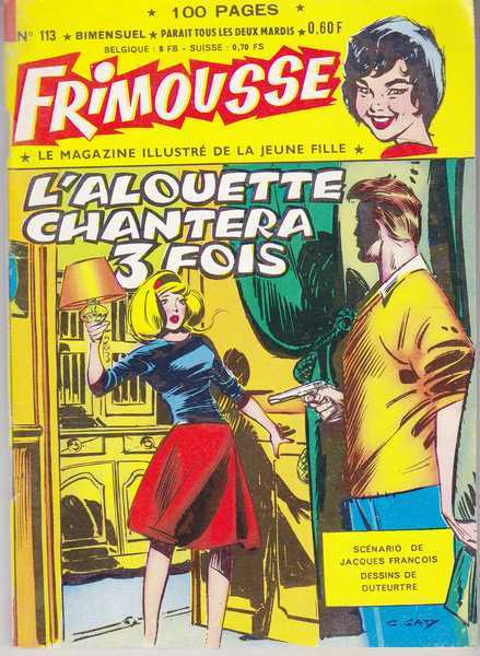 Collectif, Frimousse n°113