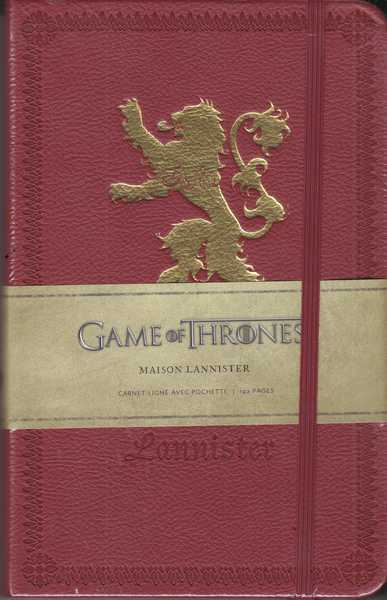 Collectif, Game of Thrones - Carnet maison Lannister