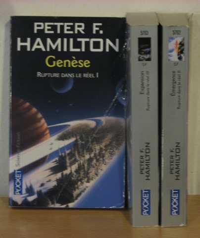 Rupture Dans Le Réel 1, 2 & 3 - Hamilton Peter F. - Librairie ...