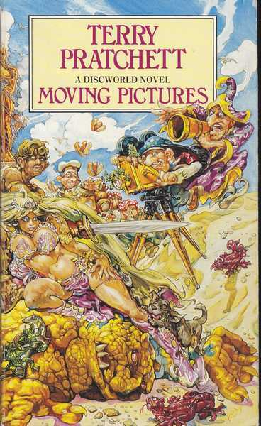 Pratchett Terry, Moving pictures